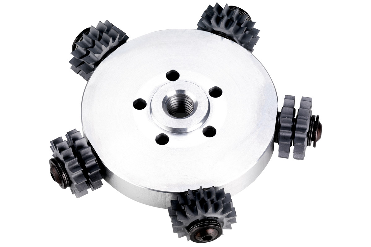 Rezkalna plošča s koničastimi zobci RFEV 19-125 RT, kompletna (628218000)