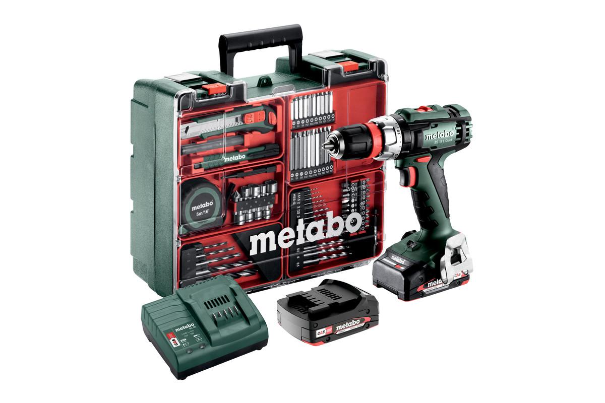BS 18 L Quick Set (602320870) Baterijski vrtalniki / vijačniki