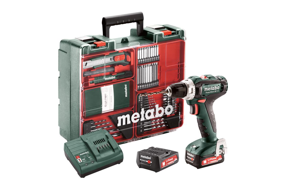 PowerMaxx BS 12 Set (601036870) Baterijski vrtalniki / vijačniki