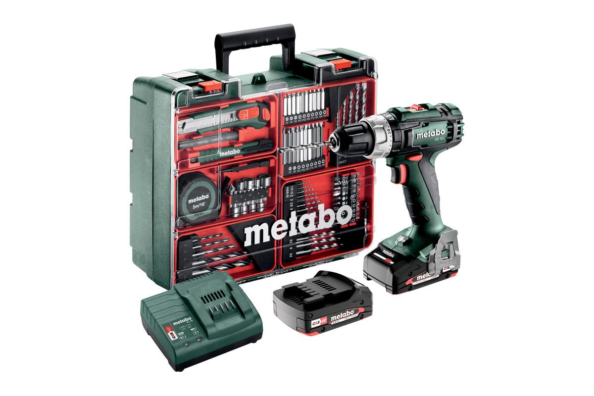 SB 18 L Set (602317870) Baterijski udarni vrtalnik