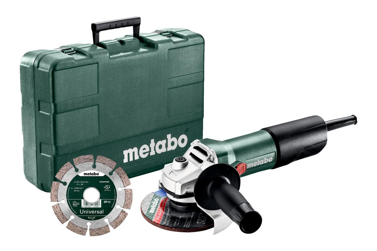 W 850-125 Set (603608510) Kotni brusilnik