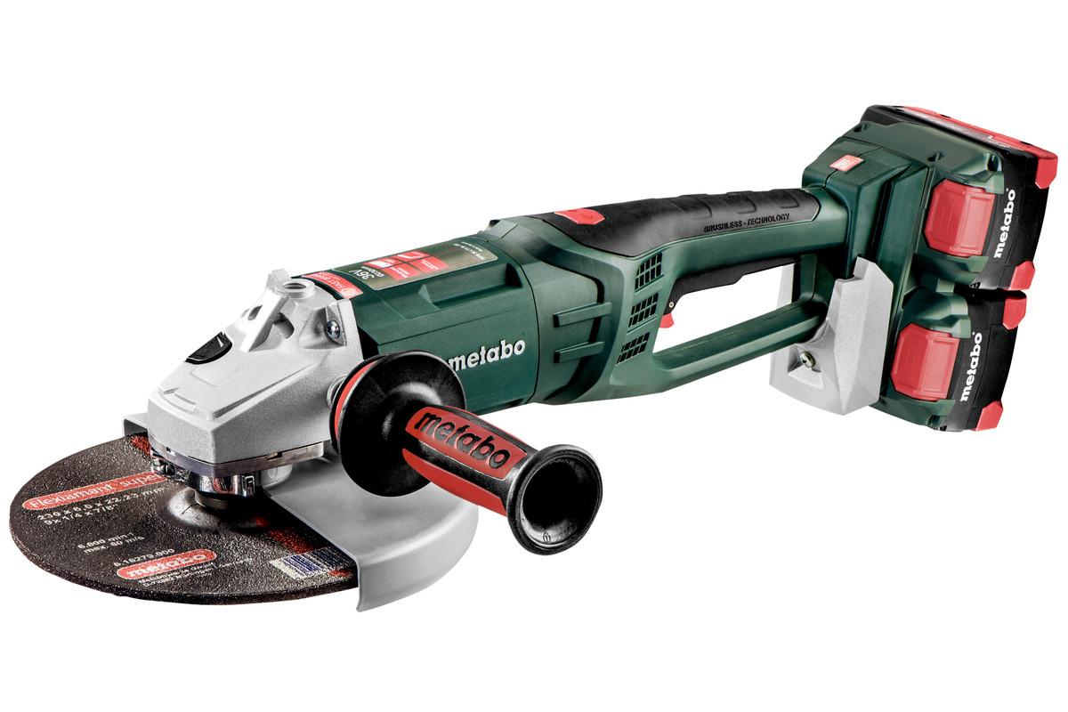 WPB 36-18 LTX BL 230 (613102810) Baterijski kotni brusilniki