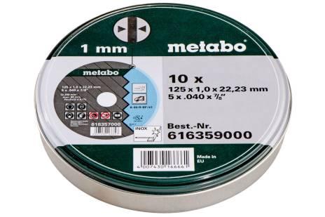 """10 rezalnih plošč """"SP"""" 125x1,0x22,23 Inox, TF 41 (616359000)"""