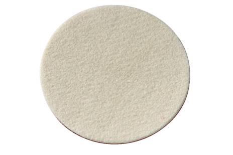 Samopritrdilna klobučevinasta plošča za poliranje mehka 155x5 mm (624965000)