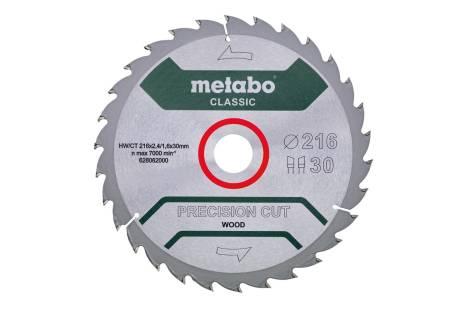 "List žage ""precision cut wood - classic"", 216x30, Z30 WZ 22° (628062000)"