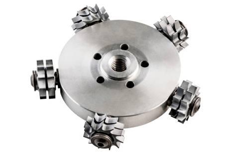 Rezkalna plošča s ploskimi zobci RFEV 19-125 RT, kompletna (628219000)
