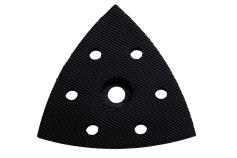 Brusna plošča, perforirana za vibracijski brusilnik s trikotno osnovno ploščo s samopritrjevanjem (624970000)
