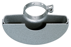 Zaščita rezilne plošče 230 mm, polzaprta, W/ WX 2000 (630387000)