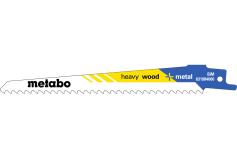 5 listov večnamenske sabljaste žage, les,flexible,150x1,25mm (631984000)