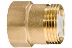 """Protipovratni ventil iz medenine 1"""" (628803000)"""