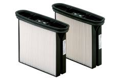 2 HEPA filter kartuši, poliester, prašni razred H (HEPA 14) (630326000)