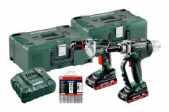 Set NP 18 LTX BL 5.0 + BE 18 LTX 6  (691084000) Baterijski stroji v kompletu
