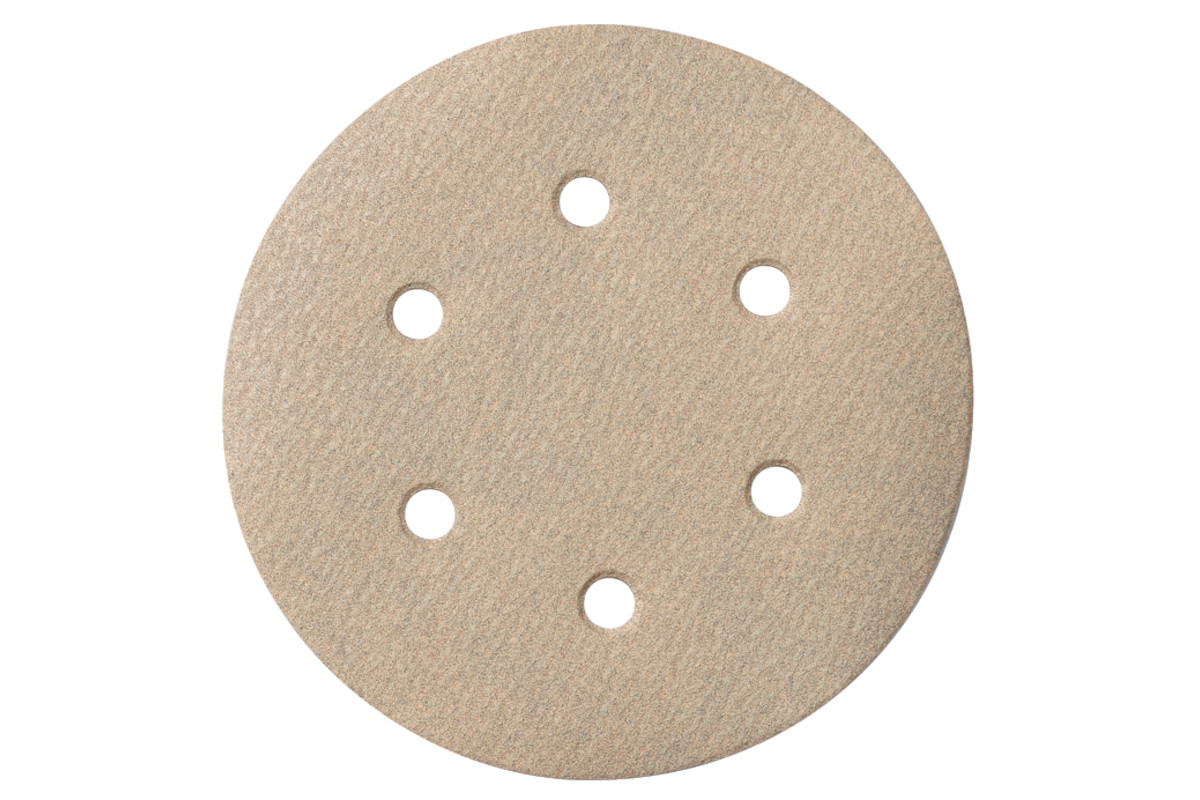 25 brúsnych papierov so suchým zipsom 150 mm P 80,Farba, SXE (624030000)