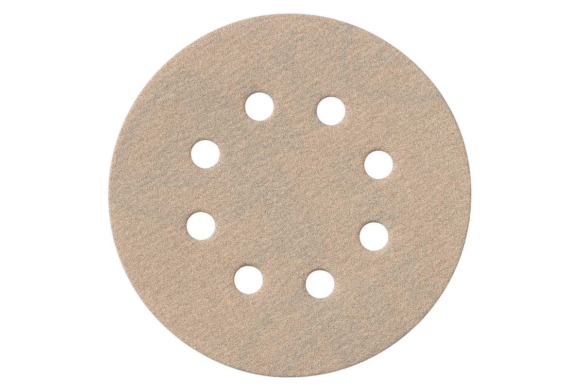 25 samolepiacich brúsnych papierov 125 mm, P 120, farba, SXE (625730000)