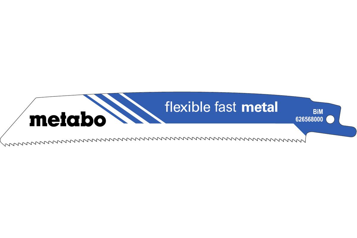 """5 pílových listov do šabľovej píly """"flexible fast metal"""" 150 x 0,9 mm (626568000)"""