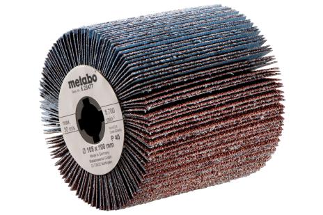 Lamelový brúsny kotúč 105x 100 mm, P 80 (623479000)