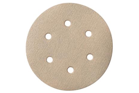 25 brúsnych papierov so suchým zipsom 150 mm P 40,Farba, SXE (624028000)