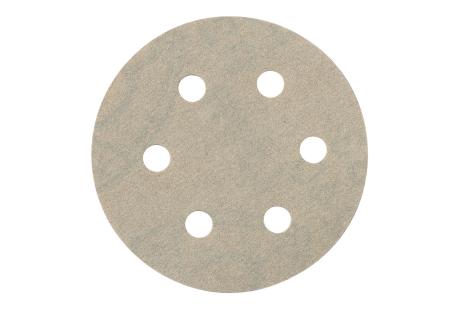 25 brúsnych papierov so suchým zipsom 80 mm P 40,Farbe,SXE (624081000)