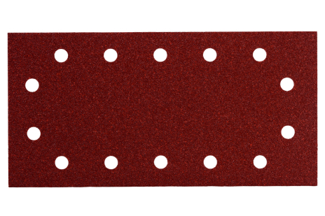 10 samolepiacich brúsnych papierov 115x230 mm, P 80, H+M, SR (625788000)
