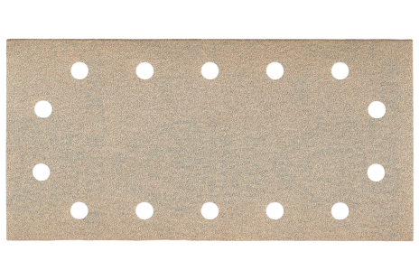 25 samolepiacich brúsnych papierov 115x230 mm, P 40, farba, SR (625891000)