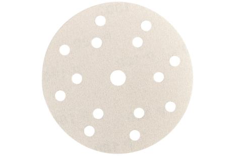 """50 brúsnych papierov so suchým zipsom 150 mm, P400, Farba, """"multi-hole"""" (626691000)"""