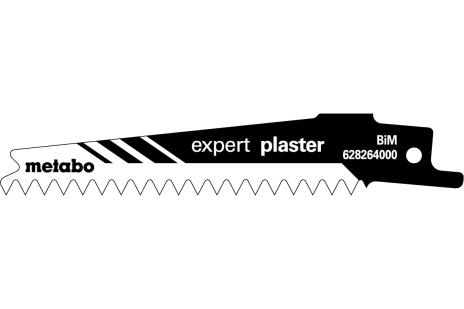 5 listov šabľovej píly, sadrokartón, expert 100x0,9 mm (628264000)