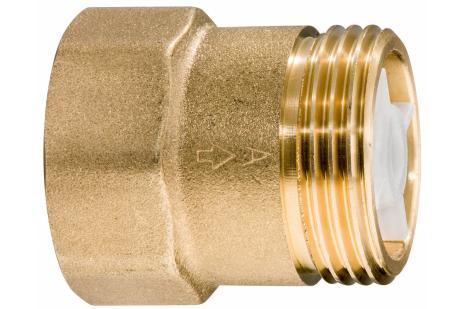 "Spätný ventil mosadz 1"" (628803000)"