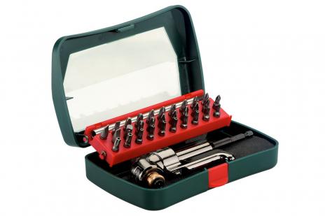 Uhlový skrutkový násadec 57 Nm so sortimentom bitov (630464000)
