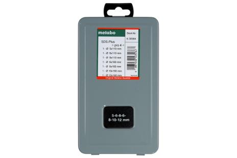Súprava vrtákov SDS-plus Pro 4, 7-dielna (630584000)