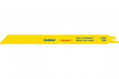 100 listov šabľovej píly, H+M, flexible, 225x0,9 mm (625494000)