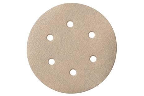 25 brúsnych papierov so suchým zipsom 150 mm P120,Farba, SXE (624032000)