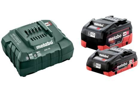Základná súprava LiHD 1 x 4,0Ah + 1 x 5,5Ah + Metaloc (685160000)