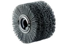 Guľatá kefa z umelej hmoty, 100x70 mm (623505000)