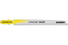 5 listov priamočiarej píly, drevo, pionier, 91 mm/progr. (623675000)