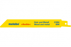 2 listy šabľovej píly, H+M, flexible, 150x0,9 mm (631094000)