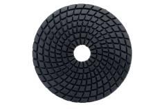 5 diamantových leštiacich kotúčov so suchým zipsom, Ø 100 mm, buff black, mokré použitie (626146000)