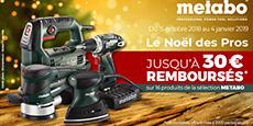 """navigation Offres spéciales """"Le Noël des Pros"""""""