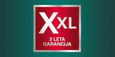navigation Garancija XXL: podaljšanje garancije strojev na 3 leta