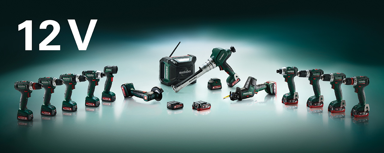 The new 12 volt cordless tools from Metabo
