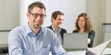 navigation Unternehmensleistungen
