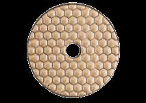 Алмазний шліфувальний круг на липучках, для сухого шліфування