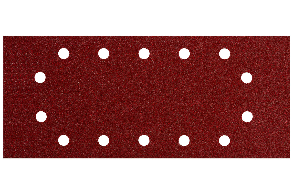 10 шліфувальних листів 115x280 мм, P 80, Д+М, SR (624493000)