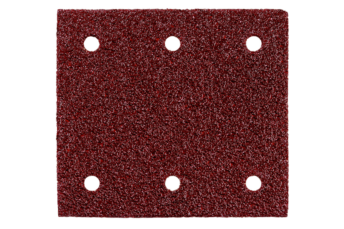 10 шліфувальних листів на липучках 115x103 мм, P 60, Д+М, SR (625620000)