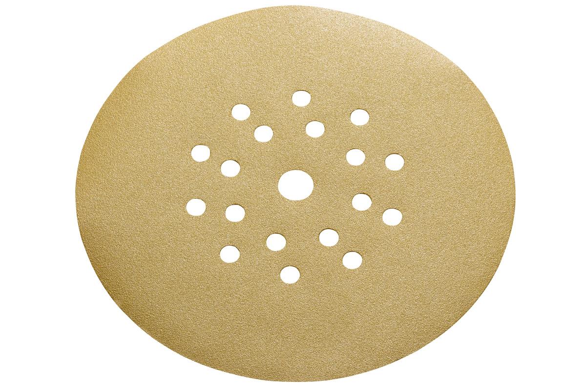 25 шліфувальних дисків на липучці, 225 мм, P 80, шпаклівка, довга шийка (626643000)