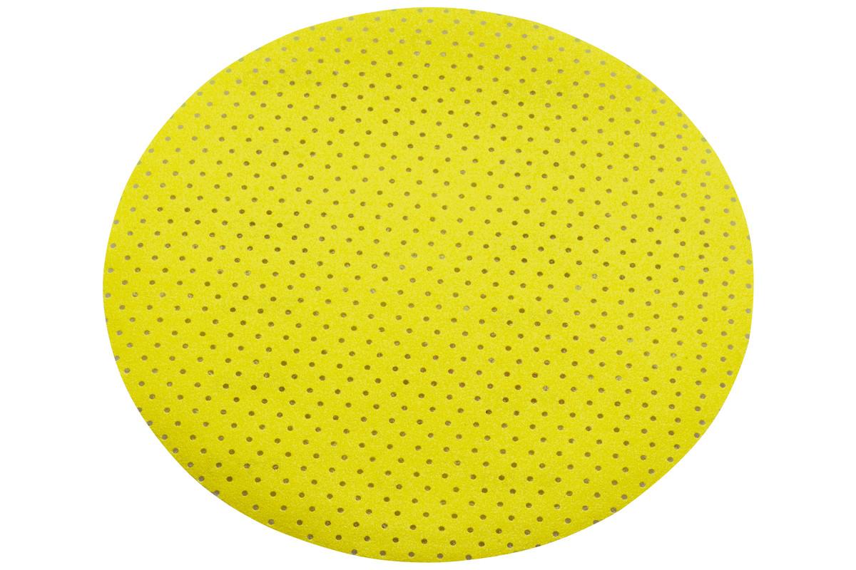 25 шліфувальних дисків на липучці, 225 мм, P 180, мультиперфорація, довга шийка (626655000)