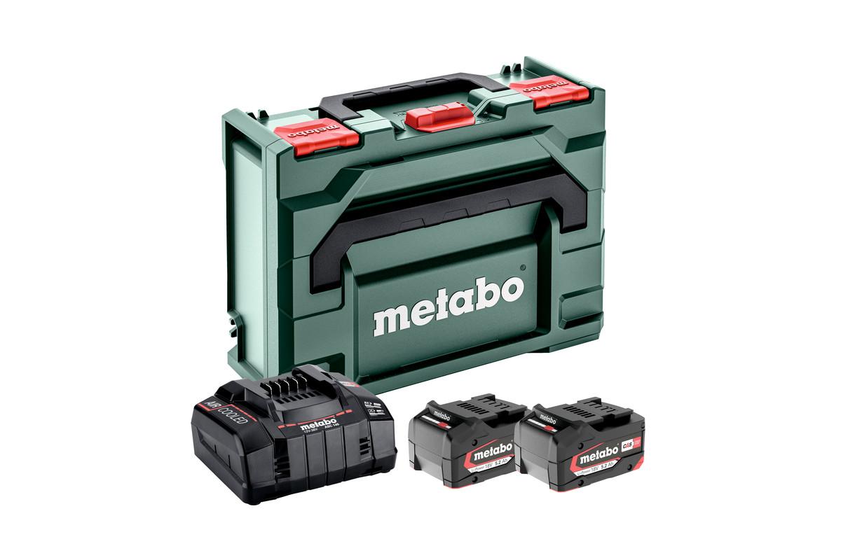 Базовий комплект 2 x 5.2 А·год + Metaloc (685065000)