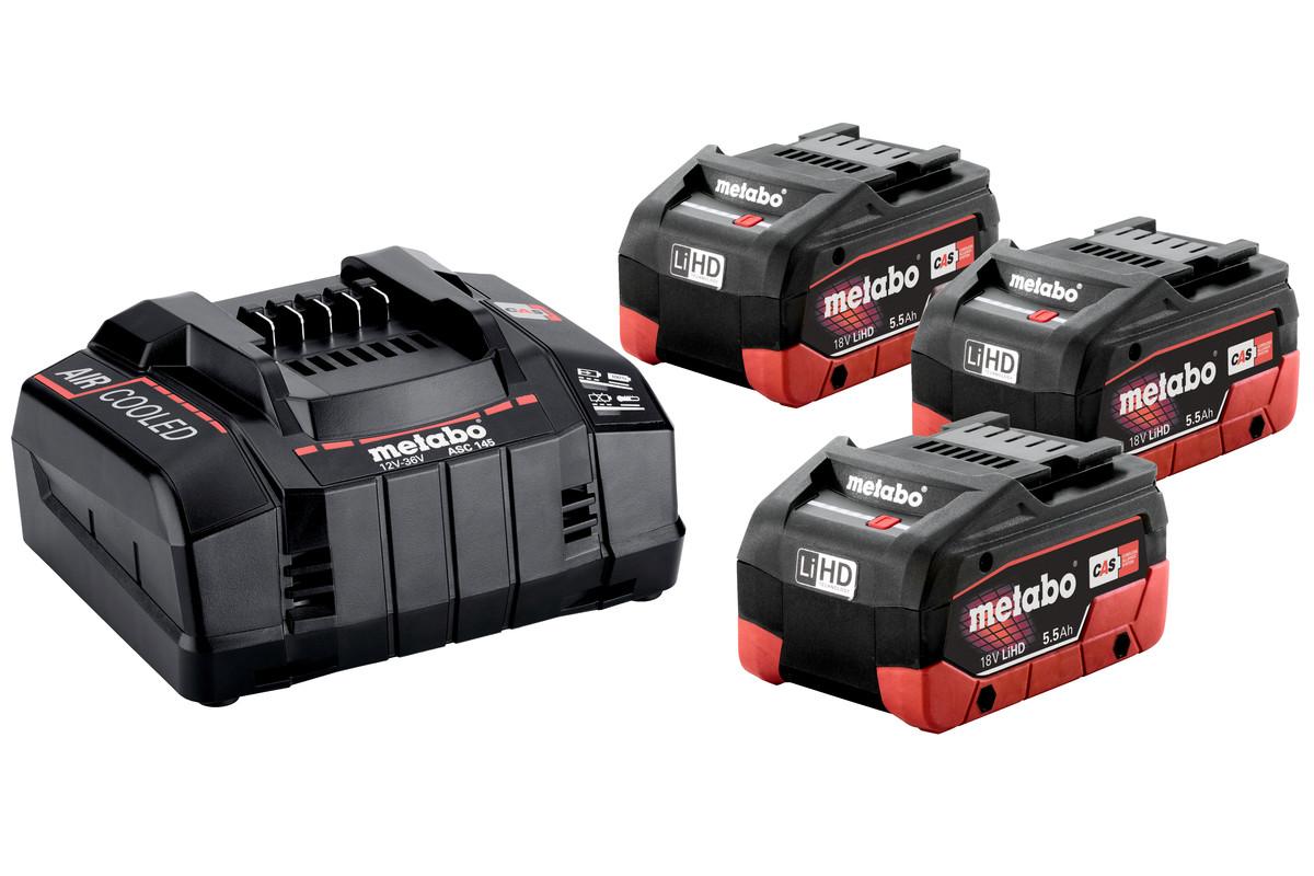 Базовий комплект 3 x LiHD 5,5 А·год (685074000)