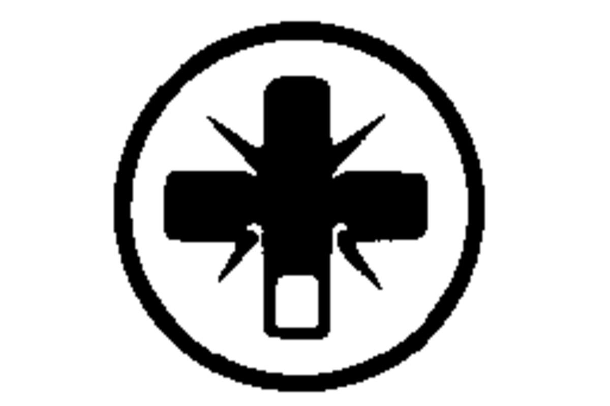 Інструментальна насадка Classic Pozidriv, розм. 1/ 89 мм (625407000)