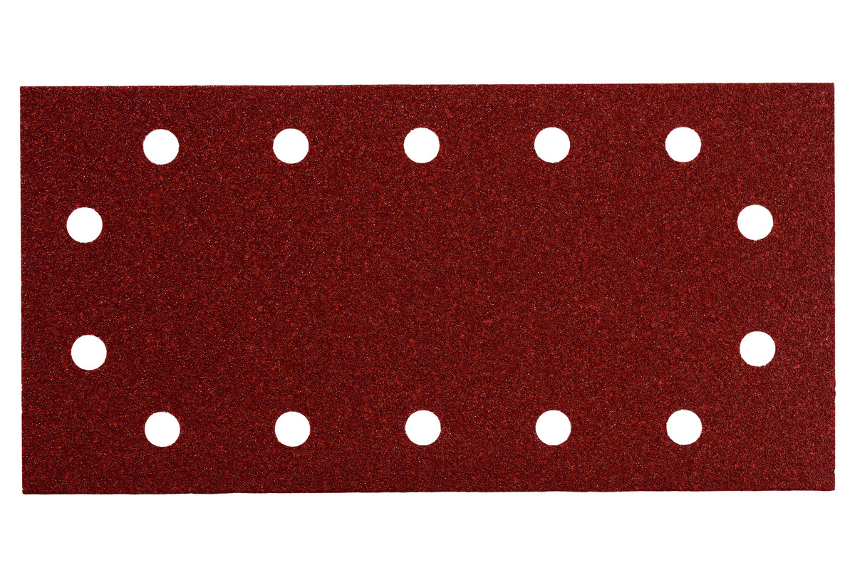 10 шліфувальних листів на липучках 115x230 мм, P 180, Д+М, SR (625791000)