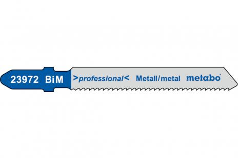5 пильних полотен для лобзика, метал, profess. 50/ 1,5 мм (623972000)